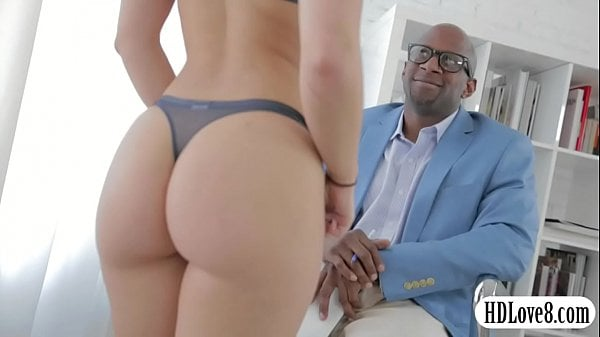 Remy Lacroix anal interracial sex by big black cock